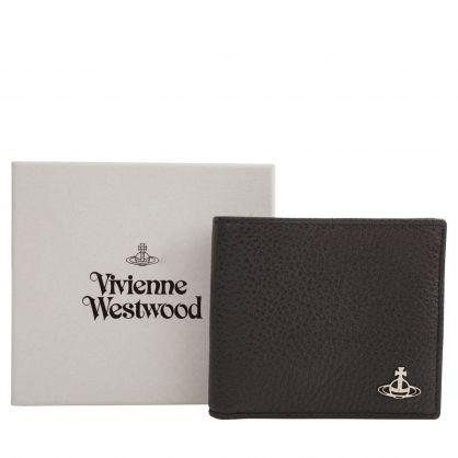 Black Milano Billfold Wallet