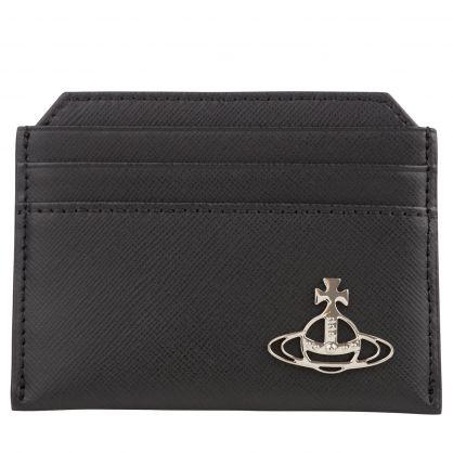 Black Kent Slim Card Holder