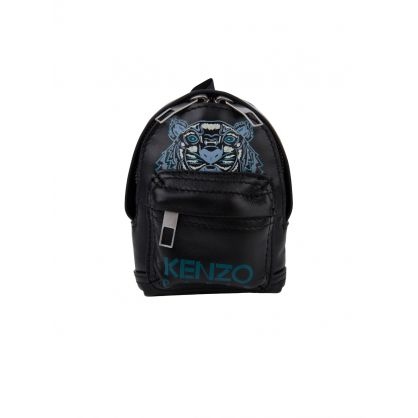 Black Tiger Backpack Keyring