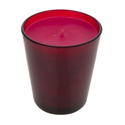 Red Single-Wick Holiday Candle
