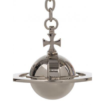 Silver 3D Orb Sofia Keyring