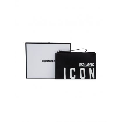 Dsquared2 Black ICON Pouch