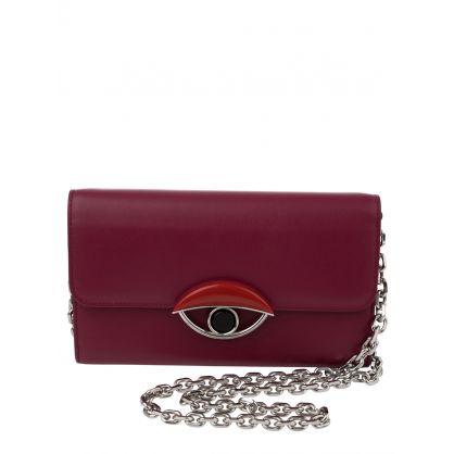 Black TALI Eye Crossbody Bag