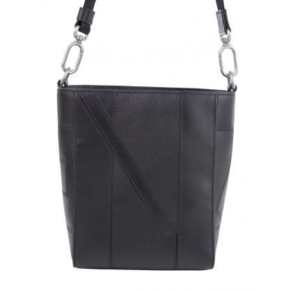 Black Small Kube Shopper Tote Bag