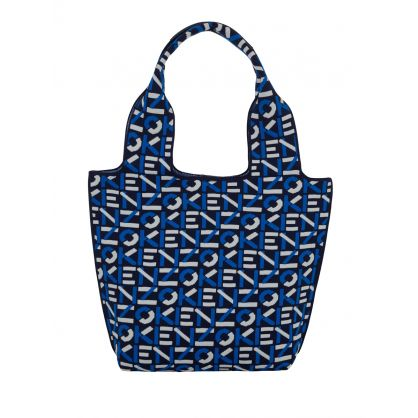 Navy Small Skuba Monogram Tote Bag