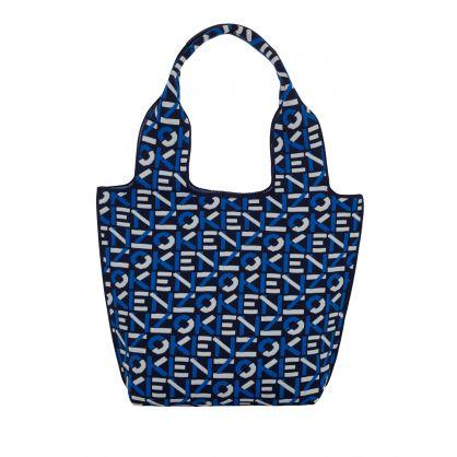 Navy Small Skuba Monogram Tote Bag