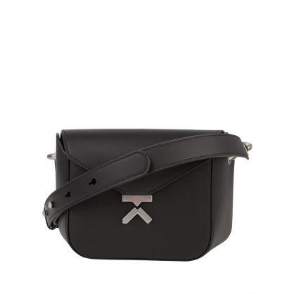 Black 'K' Crossbody Bag