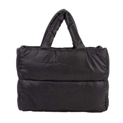 Black Dafne Faux Leather Bag