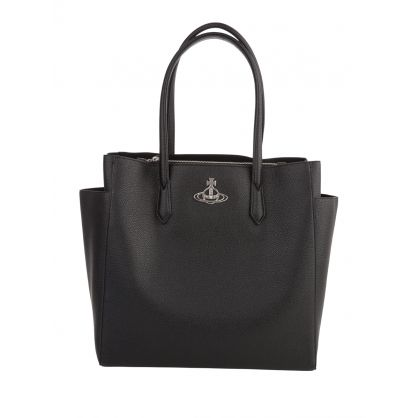 Black Johanna Large Shopper Bag