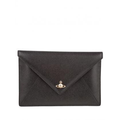 Black Victoria Clutch Bag