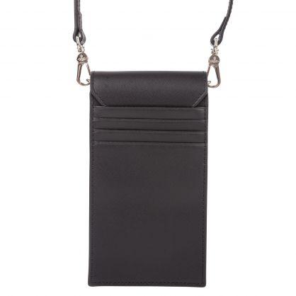 Black Debbie Phone Bag