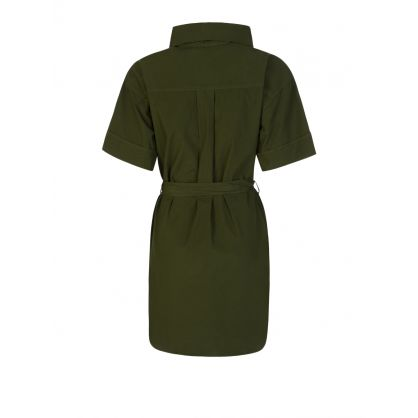 Green Belted Tunic Dress