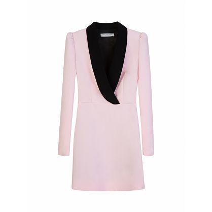 Di Lorenzo Serafini Pink Blazer Dress