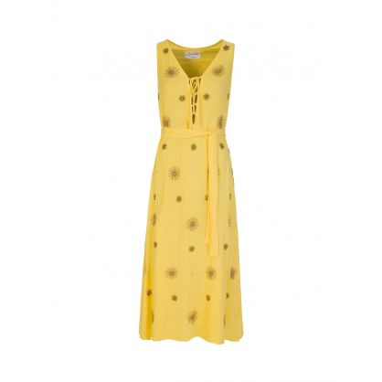Yellow Bonheur Long Dress