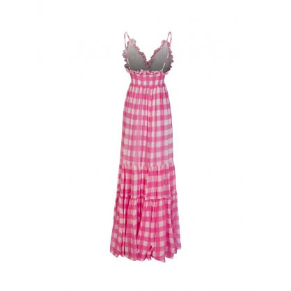 Pink Gingham Catalina Dress