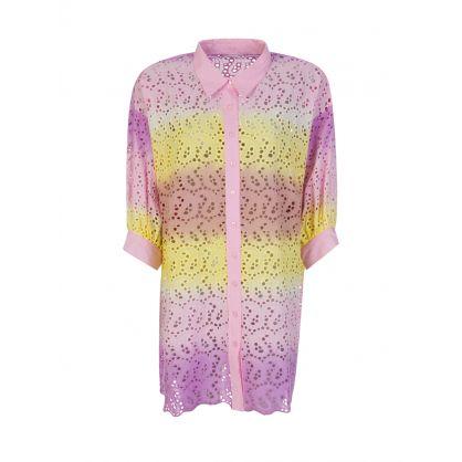 Pink Ombre Florine Mini Dress