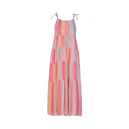 Multicoloured Valeria Maxi Dress