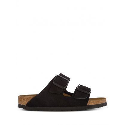 Black Narrow-Fit Arizona BS Sandals