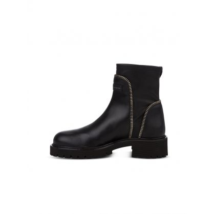 Black Rodger Chelsea Boots