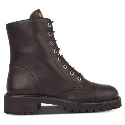Black Combat 25 Lace-Up Boots