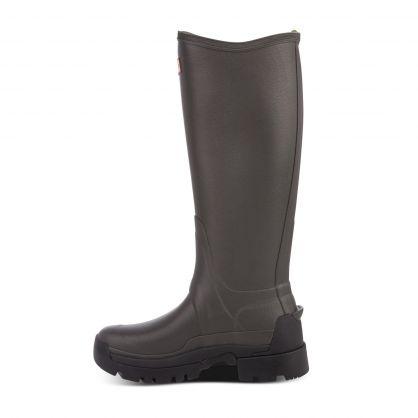 Dark Grey Balmoral Adjustable 3mm Neoprene Wellington Boots