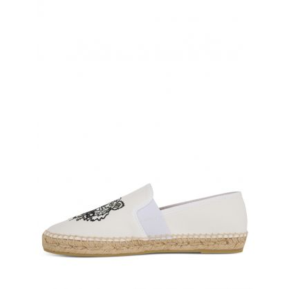 Off-White Canvas Tiger Espadrilles