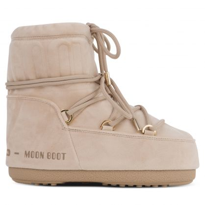 Beige LAB69 Mars Velvet Boots