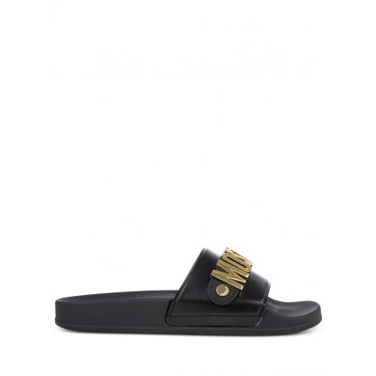Black/Gold Logo Slides