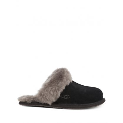 Black Scuffette II Slippers