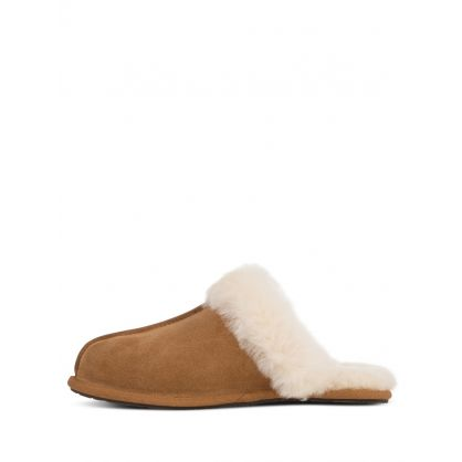 Light Brown Scuffette II Slippers