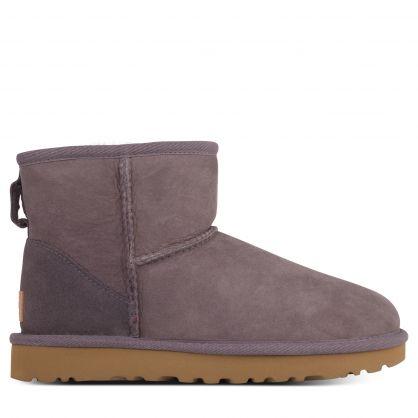 Grey Classic Mini II Boots
