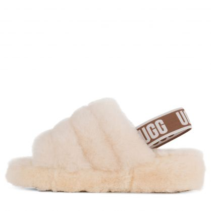 Natural White Fluff Yeah Slides