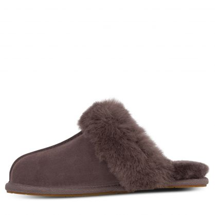 Grey Scuffette II Slippers