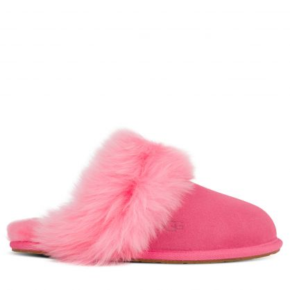 Pink Scuff Sis Slippers