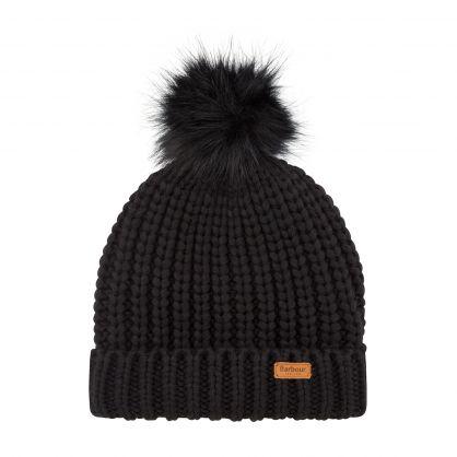 Black Saltburn Beanie Hat