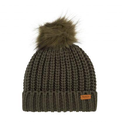 Green Saltburn Beanie Hat