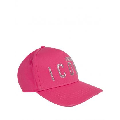 Pink Diamante ICON Cap