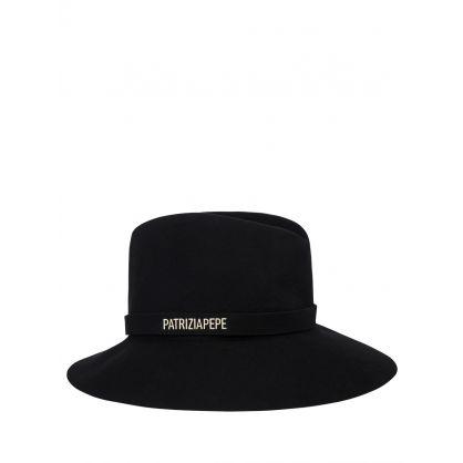 Black Cloche Hat
