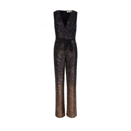 Black Eryn Ombre Jumpsuit