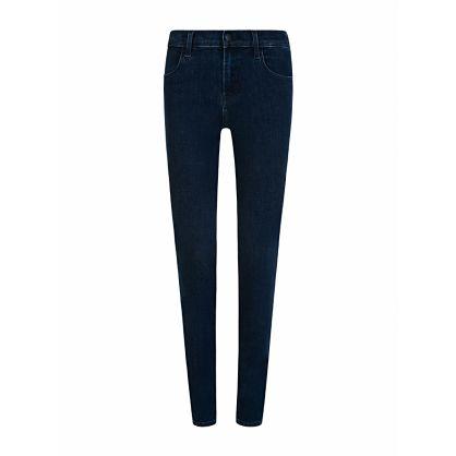 Navy Mid-Rise Super Skinny Sophia Jeans