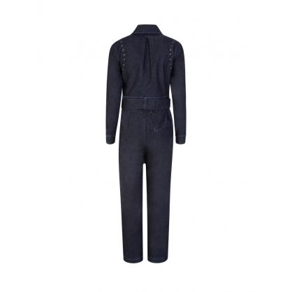 Blue Denim Boiler Suit