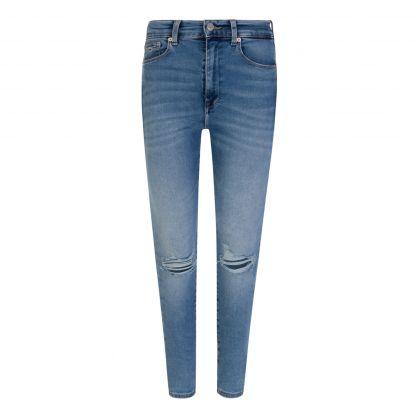 Blue Sylvia High Rise Super Skinny Jeans