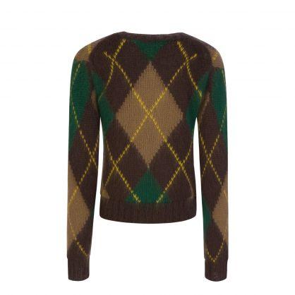 Dark Brown Mohair Wool Jumper