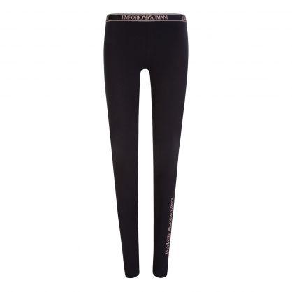 Black Underwear Collection Eco-Friendly Leggings