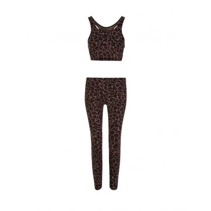 Brown Tort Leopard Luna Leggings