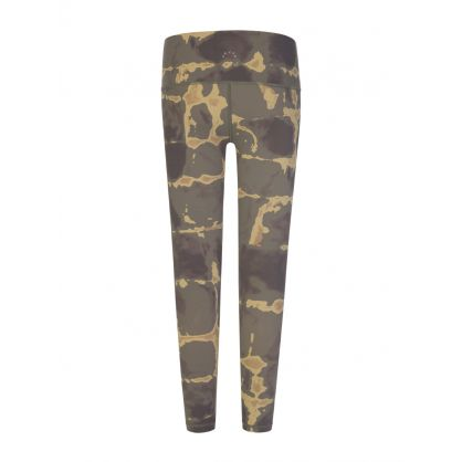 Green/Gold Luna Leggings