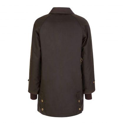 Green Norwood Waxed Cotton Jacket