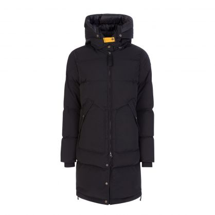 Black Long Bear Light Jacket