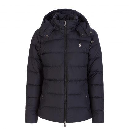 Black Belmont Down-Filled Jacket