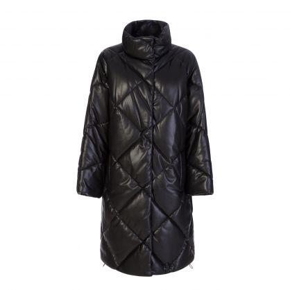 Black Anissa Coat
